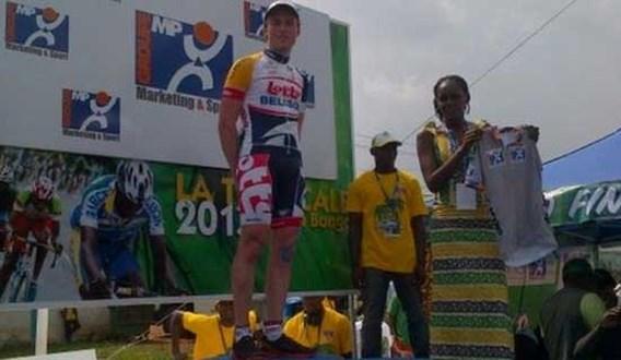 Frederique Robert wint eerste rit in Ronde van Gabon