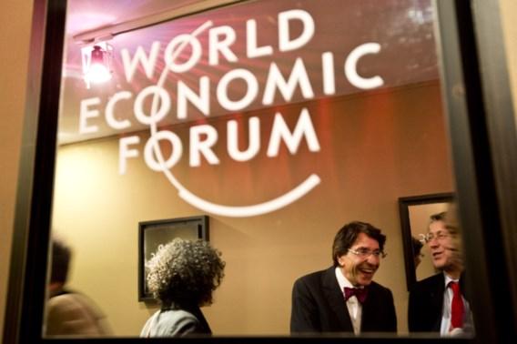 Di Rupo serveert 'Belgian Power Breakfast' in Davos