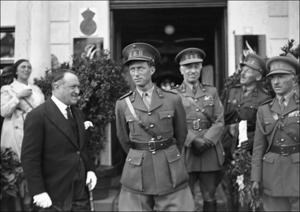 Koning Leopold III in 1939