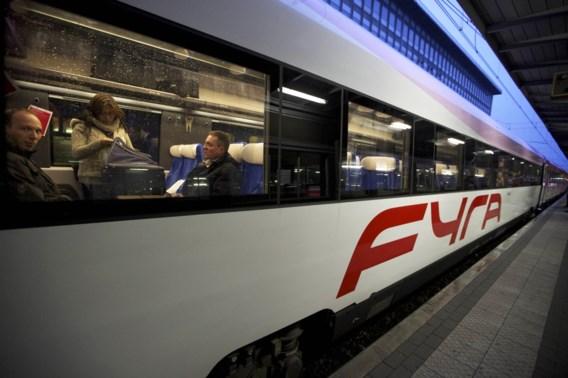 Intercity vervangt Fyra vanaf 18 februari