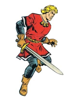 De Rode Ridder, held pur sang.