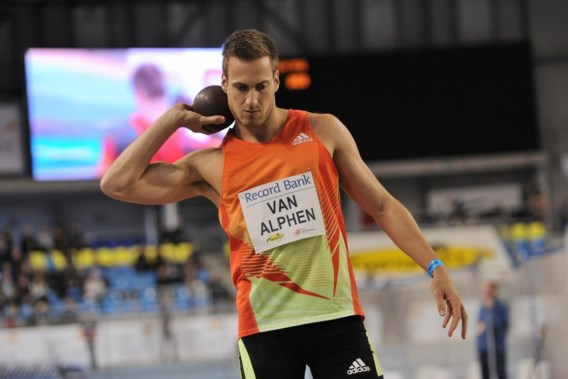 Hans Van Alphen geeft geblesseerd op in driekamp op Flanders Indoor