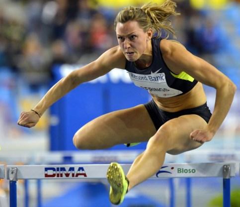 Eline Berings tweede in 60 meter horden op Flanders Indoor