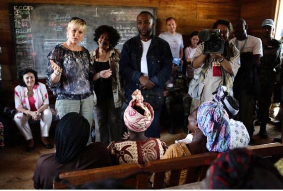 Margot Wallström bij een bezoek aan Congo in 2010: 'Een opsteker dat in Oost-Congo hoge officieren voor verkrachting zijn vervolgd.'