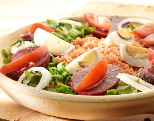 RECEPT. Couscous met rode bieten