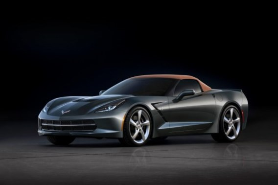 Chevrolet Corvette Stingray Convertible: opschepper