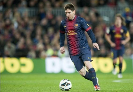 Barça rekent op Lionel Messi, die afgelopen weekend nog maar eens een record brak: hij scoorde in de 17de competitiewedstrijd op rij.