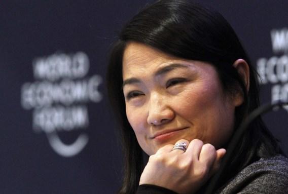 Zhang Xin studeerde in 1992 af aan de Universiteit van Cambridge.