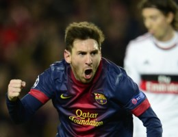 Messi overtreft Van Nistelrooy in topschuttersstand Champions League