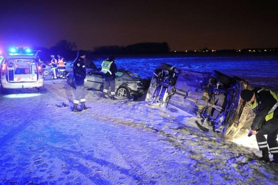Drie Belgen gewond bij zwaar ongeval nabij Rijsel