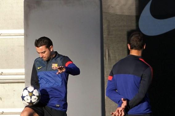 Barcelona kan rekenen op Xavi voor CL-duel tegen Milan