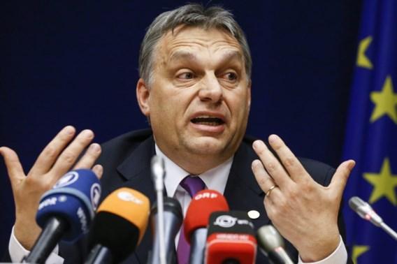 Hongaarse premier bijt van zich af in Brussel