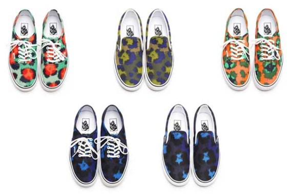 Kenzo ontwerpt luipaardsneakers voor Vans