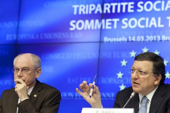 Van Rompuy: 'Ook gebrek aan vertrouwen zorgt voor economische stagnatie'