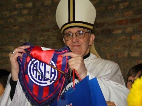 Nieuwe paus is een voetbalfan