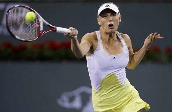 Ook Caroline Wozniacki zonder spelen bij laatste vier
