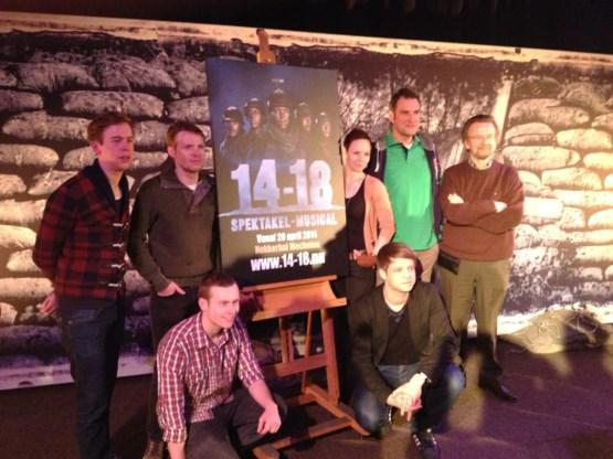 Indrukwekkende cast voor Studio 100-musical 14-18