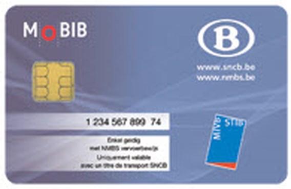 NMBS introduceert MOBIB-kaart