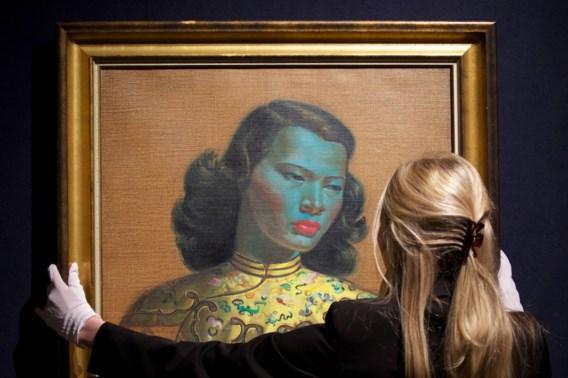 's Werelds bekendste kitschschilderij geveild voor recordbedrag