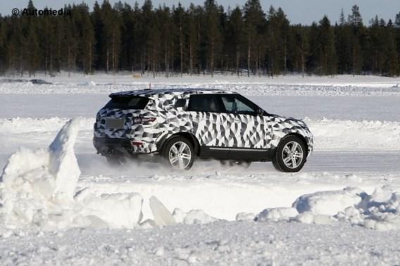 Toekomstige Land Rover Freelander verrast in het hoge noorden