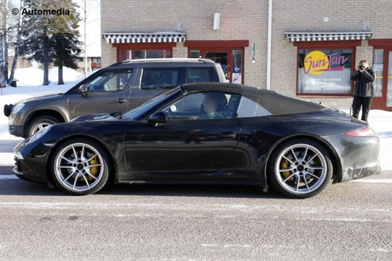 Porsche 911 Targa: valse cabriolet