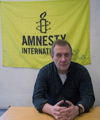 Sergej Nikitin kreeg niet te horen waarom de Russische inspecteurs het kantoor van Amnesty International binnenvielen.