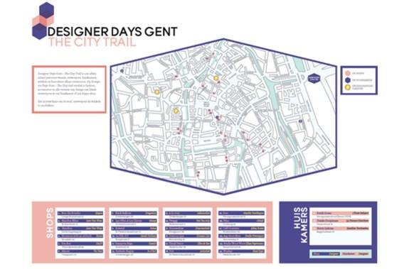 Ontdek creatief Gent op een wandeling tijdens de Designer Days