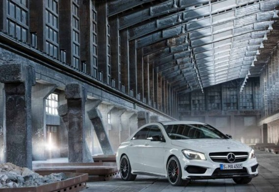 Mercedes CLA 45 AMG: krijger in minishort