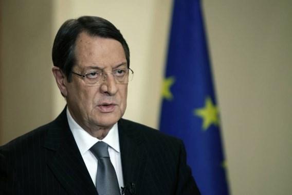 Cypriotische president levert deel salaris in