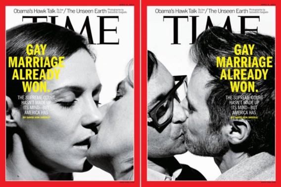 'Het homohuwelijk heeft al gewonnen'