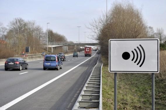 18.000 bestuurders te snel in eerste week nieuwe trajectcontrole