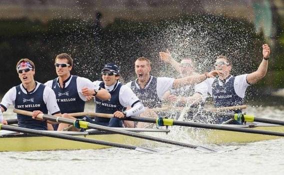 Oxford klopt Cambridge in 159e Boat Race