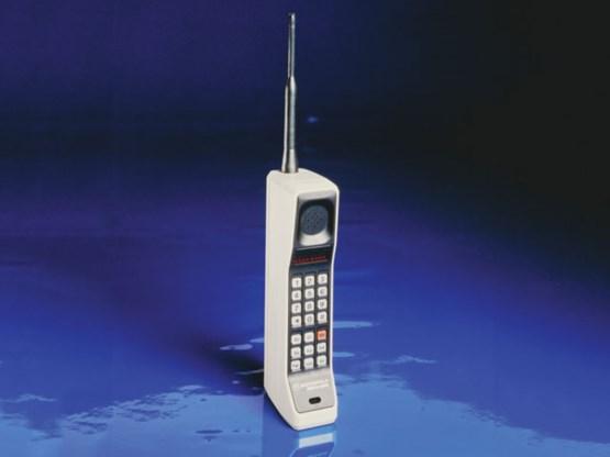 Mobiele telefoon blaast 40 kaarsjes uit