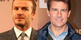 David Beckham: 'Tom Cruise is veel knapper dan ik'