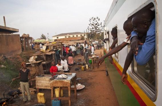 Een nieuwe spoorverbinding in Kampala, de hoofdstad van Uganda, uitgebaat door Rift Valley Railways. Het Belgische Investeringsfonds voor Ontwikkelingslanden (BIO) steunt die spoorwegmaatschappij.