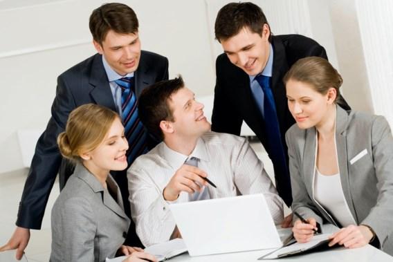 Collega's boven bij Belgische werknemers