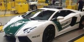 Politie in Dubai patrouilleert in Lamborghini