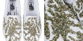 IN DE KIJKER. De glimmende sneakers van Rodarte voor Vans