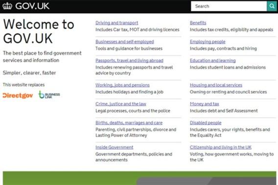 Britse overheidswebsite verrassende winnaar prestigieuze designawards