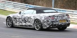 Aston Martin Vanquish brult in openlucht