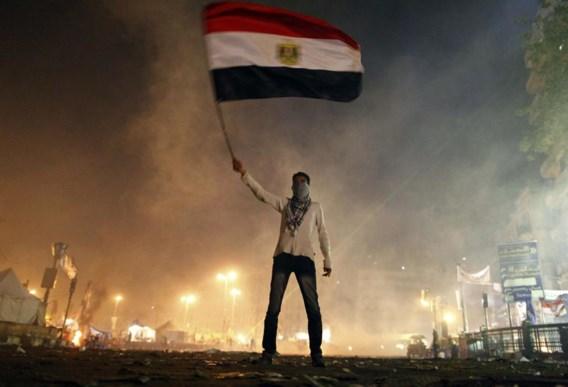 Tijdens de Arabische Lente, zoals hier in Egypte, werkte de Amerikaanse journalist Andy Carvin samen met een netwerk op Twitter om te achterhalen wat er werkelijk gebeurde.
