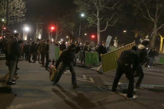 Rellen tijdens betoging tegen homohuwelijk