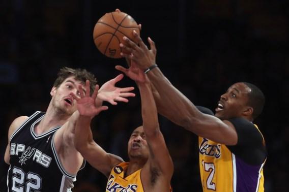 San Antonio bezorgt LA Lakers pijnlijk verlies
