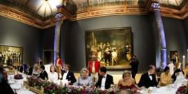 Beatrix in Rijksmuseum voor diner