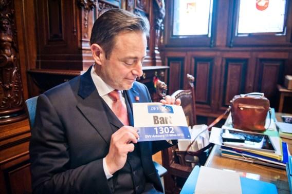De Wever vaakst aan het woord op VRT