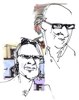 Christiaan Weijts en Oek de Jong.
