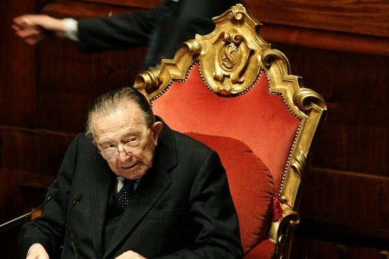 Voormalig Italiaans premier Giulio Andreotti overleden