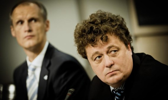 Volgens Luc Desender (rechts) is er voor Winpar geen cashrisico verbonden aan het PMV-contract.