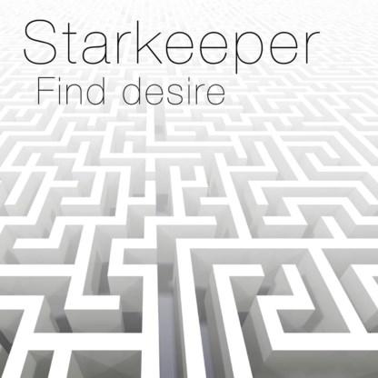 Beluister Find Desire,  de eerste EP van Starkeeper