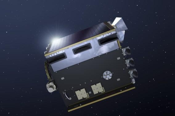 'Belgische' satelliet gelanceerd